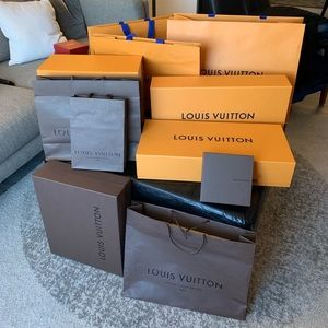 Other - Louis Vuitton boxes and bags